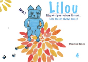 Bilingual book (English-French) for children from 3 to 6 years old - Lilou4