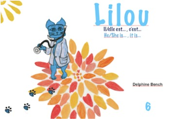 Bilingual book (English-French) for children from 3 to 7 years old - Lilou6