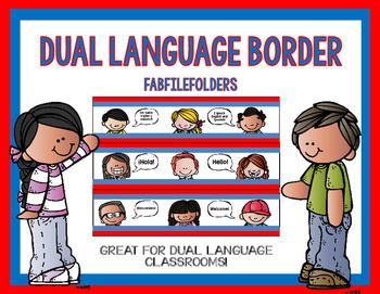 Bilingual border