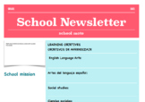 Bilingual newsletter