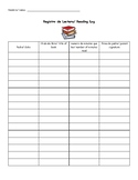 Bilingual reading log