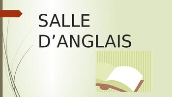 Bilingual signs for school