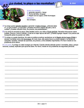 WRITING ASSIGNMENTS - TRAVEL AND TOURISM: Machu Picchu, Cartagena, Bilbao, DF +