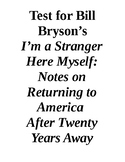 "Bill Bryson and ""I'm a Stranger Here Myself"""
