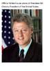Bill Clinton Handout