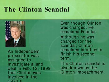 Bill Clinton Powerpoint