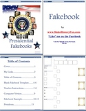 Bill Clinton Presidential Fakebook Template