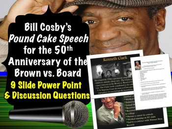 Bill Cosby's Pound Cake Speech: African American Voices