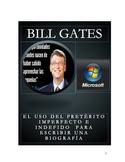 Bill Gates. El uso del imperfecto y el indefinido en las biografías