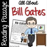 Bill Gates Reading Passage