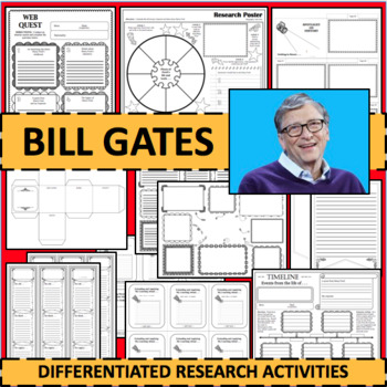 BILL GATES Biographical Biography Research Activities DIFFERENTIATED!