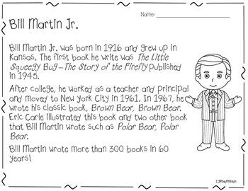 Bill Martin: Author Study