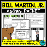 Bill Martin Jr.:  An Author Study Packet