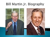 Bill Martin Jr. Biography PowerPoint