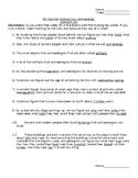Bill Nye Archaeology Note Taking Sheet