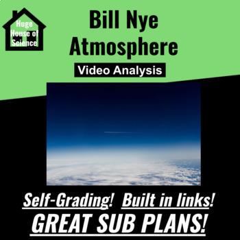 Bill Nye - Atmosphere Google Form - GREAT SUB PLANS!