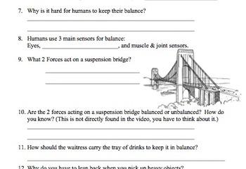 Bill Nye Balance Video Work... by Mayberry in Montana | Teachers ...