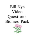 Bill Nye Biomes Video Questions Pack
