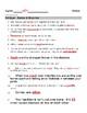 Bill Nye Bones Muscles Video Guide Sheet