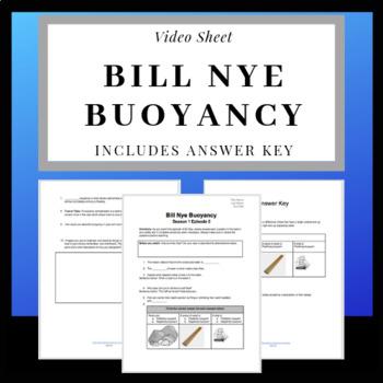 Bill Nye Buoyancy Video Worksheet