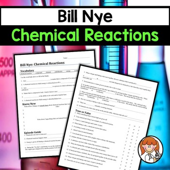bill nye chemical reactions by science chick tpt. Black Bedroom Furniture Sets. Home Design Ideas