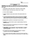 Bill Nye Climate Note Taking Sheet