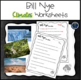 Bill Nye Climates Worksheets