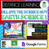 Bill Nye EARTH SCIENCE PART 1 BUNDLE Quizzes Google Classr