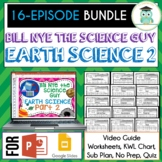 Bill Nye EARTH SCIENCE Part 2 BUNDLE, Video Guides, Sub Pl