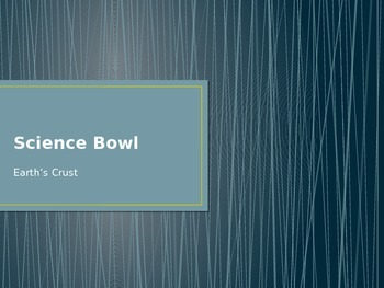 """Bill Nye Earth Science """"Science Bowl"""" Game"""