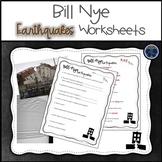 Bill Nye Earthquakes Worksheets
