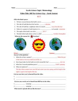 All Worksheets » Bill Nye Atoms And Molecules Worksheet - Free ...