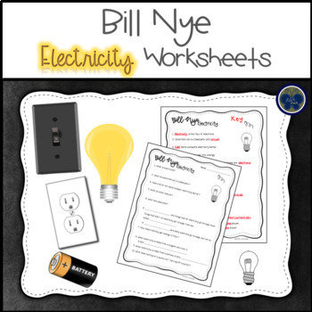 Bill Nye Electricity Worksheets