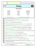 Bill Nye - Energy – iPad Interactive Worksheet, Answer She