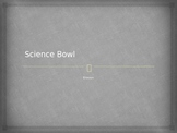 "Bill Nye Erosion ""Science Bowl"" game"