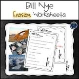 Bill Nye Erosion Worksheets