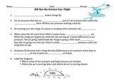 Bill Nye Flight Video Worksheet
