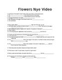 """Bill Nye """"Flowers"""" Video Worksheet"""
