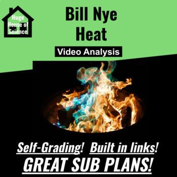 Bill Nye - Heat Google form - GREAT SUB PLAN!