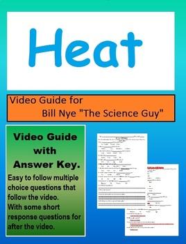 Bill Nye: S2E10 Heat, Thermal Energy Video sheet