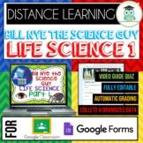 Bill Nye LIFE SCIENCE PART 1 BUNDLE Quizzes Google Classro