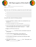 Bill Nye-Layers of the Earth video worksheet