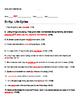 Bill Nye Life Cycles Video Guide Sheet