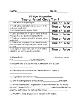 Bill Nye Video Worksheets  FOUR    Electricity and Optics Worksheet together with Bill Nye Static Electricity Worksheet   Lostranquillos likewise  likewise Bill Nye  Mag ism moreover Mag ism Worksheet Answers Luxury Video Worksheet Movie Guide for furthermore bill nye mag ism youtube   worksheet additionally Mag ism Worksheet   Homeoutsidethebox in addition Bill Nye Mag ism Questions   Proga   Info additionally Free Worksheets Liry   Download and Print Worksheets   Free on moreover Video Worksheet  Movie Guide  for Bill Nye   Mag ism by Seriously as well Bill Nye The Science Guy Energy Worksheet   Ace Energy furthermore Bill Nye Energy Worksheet Answers   Ace Energy together with KateHo » 22 Unique Bill Nye Mag ism Worksheet Answers   Worksheet further Bill Nye Mag ism Teaching Resources   Teachers Pay Teachers furthermore Bill Cells Worksheet   Nye Energy Video Worksheets Heat in addition Bill Nye Mag ism Worksheet   Sanfranciscolife. on bill nye magnetism worksheet answers