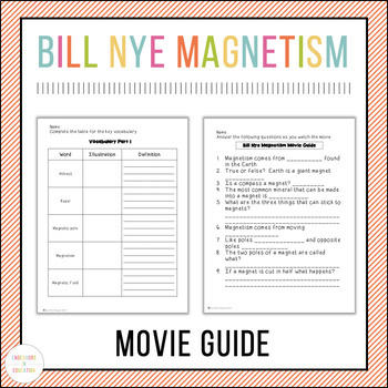 Bill Nye Magnetism Movie Guide