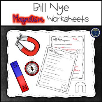 Bill Nye Magnetism Worksheets