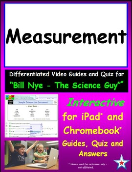 :) Google Docs Video Guide Quiz & Ans for Bill Nye – Measurement *