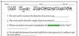 Bill Nye: Measurements + Activity