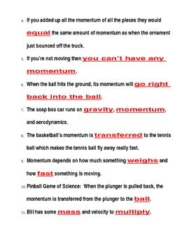 bill nye momentum video guide sheet by jjms teachers pay teachers. Black Bedroom Furniture Sets. Home Design Ideas