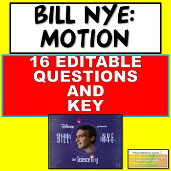Bill Nye Motion Questions and Key
